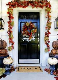 Budget Fall Decorating Ideas For the Front Door ...