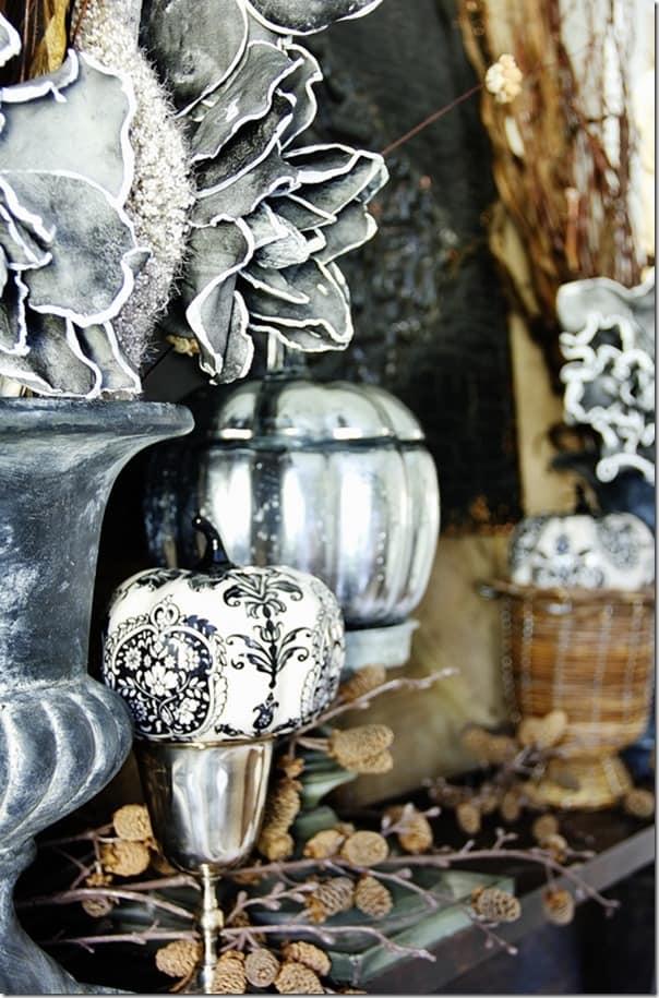 pumpkin-decorating-ideas-mercury-glass