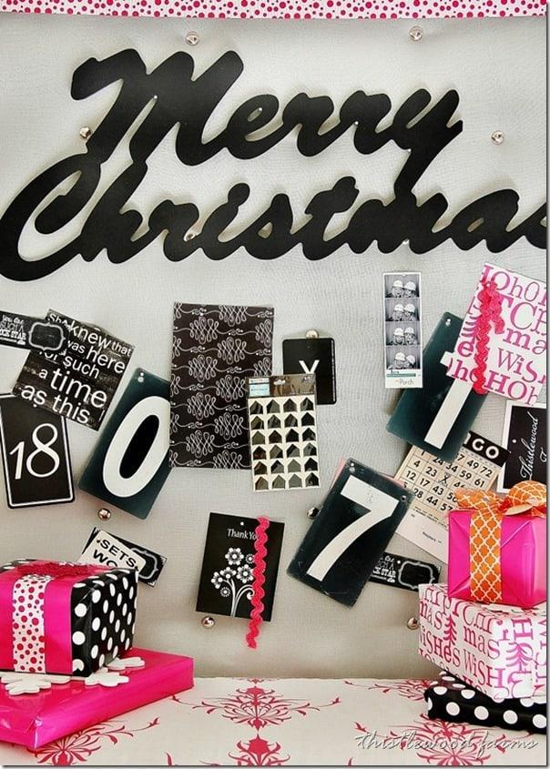 pink-Christmas-bulletin-board