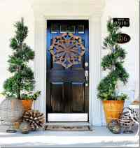 Trash to Treasure: Almost Spring Door Decorating ...