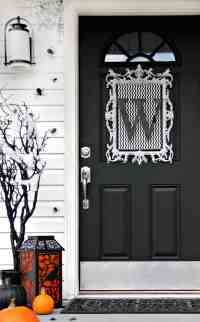 Four Ideas For Inexpensive Halloween Door Decorations
