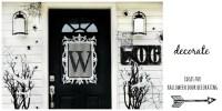 Four Ideas For Inexpensive Halloween Door Decorations ...