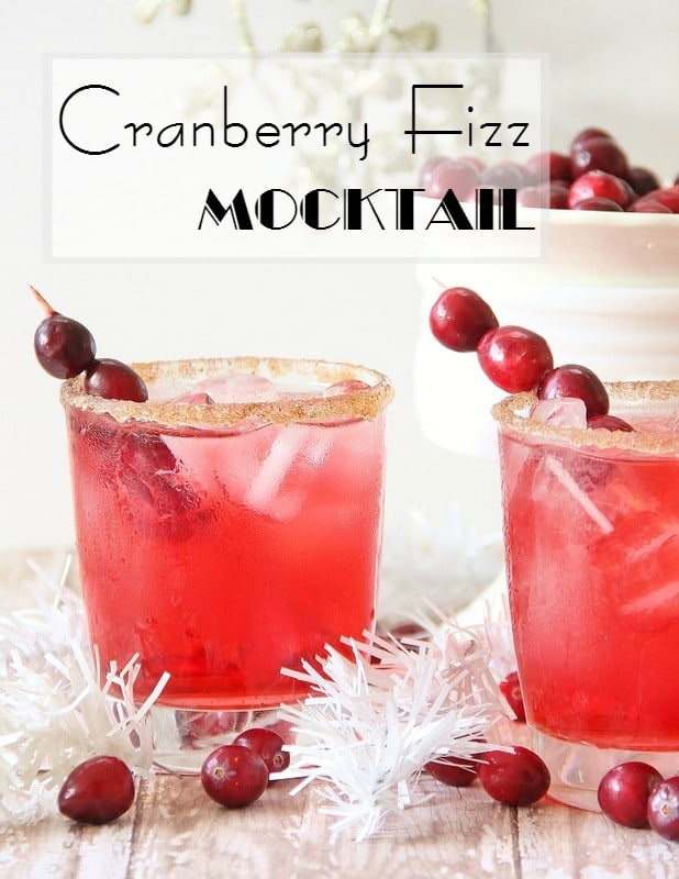 Try out this amazing Cranberry Fizz Mocktail recipe