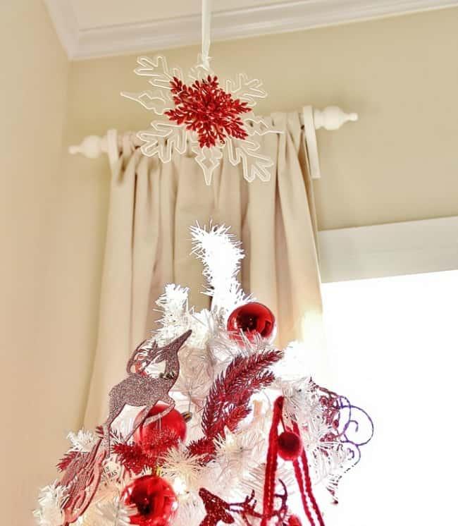 Ten Minute Christmas Ideas Tree Topper