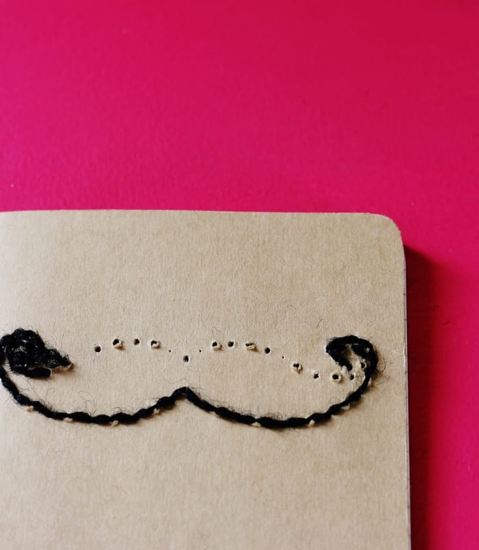 Hand-Stitched Notebook handmade gift