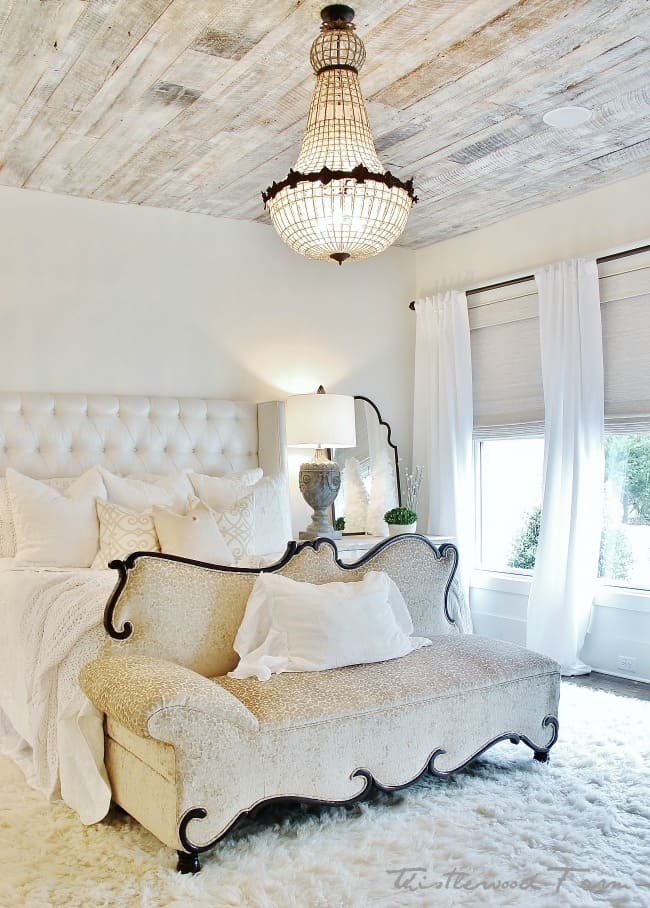 master bedroom decorating for Christmas