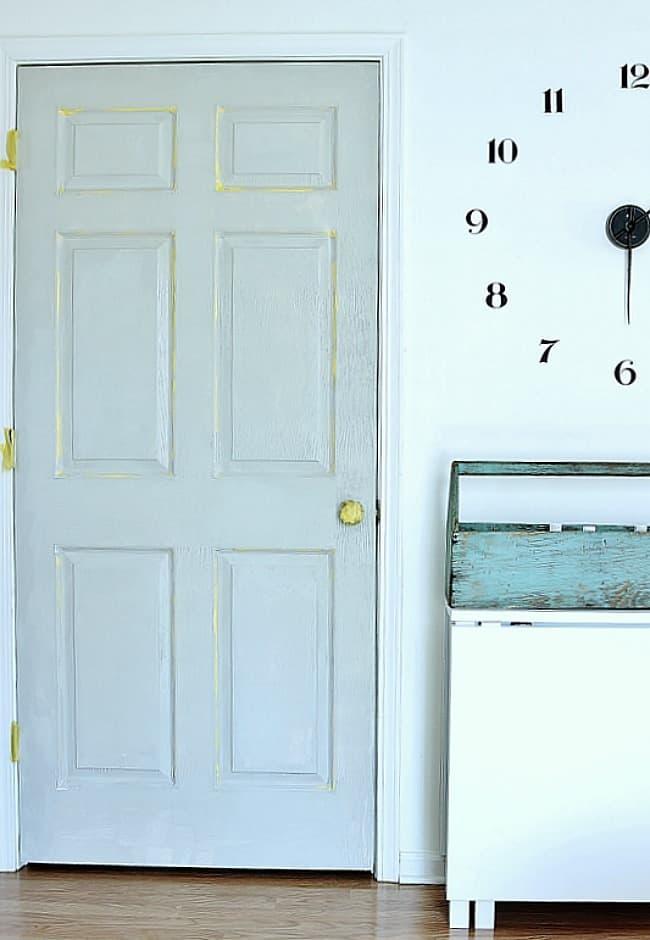 faux-paneled-door-DIY