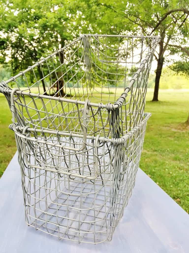 Industrial Farmhouse Organizer Baskets