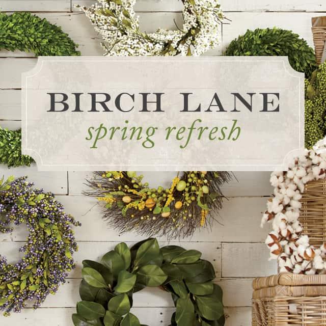 Birch Lane Spring Refresh Campaign Photo
