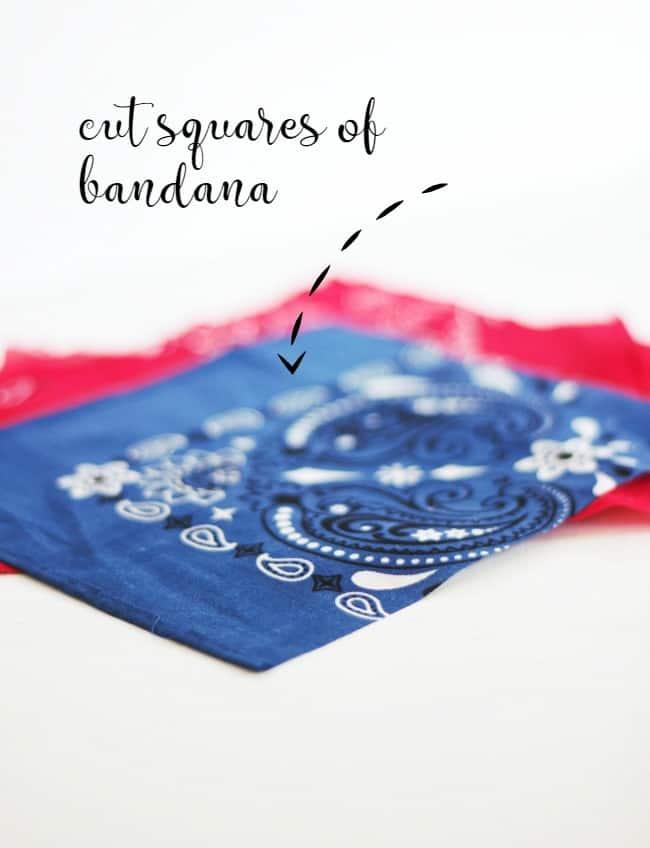bandana pieces
