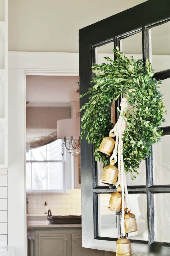 So happy to have this beautiful dutch door back in our home