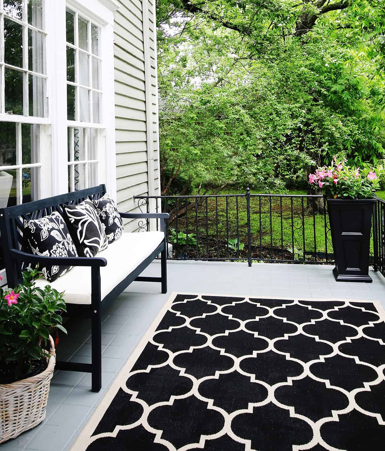 keep rug in place with this simple tip