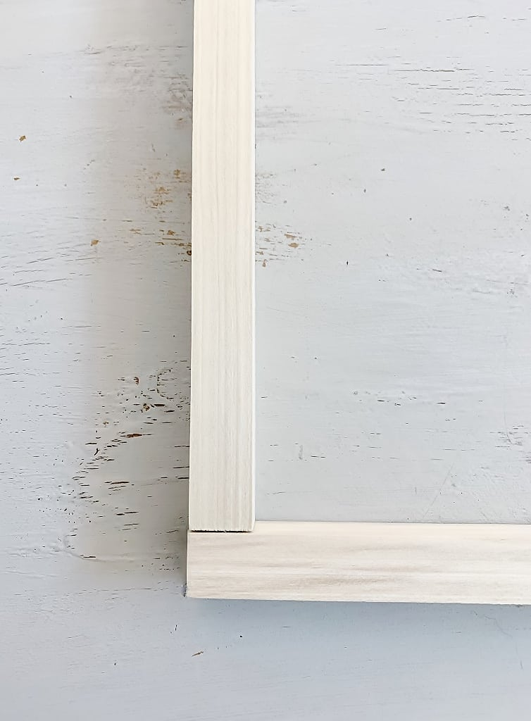 """how to frame a canvas 1"""" x 1"""" boards"""