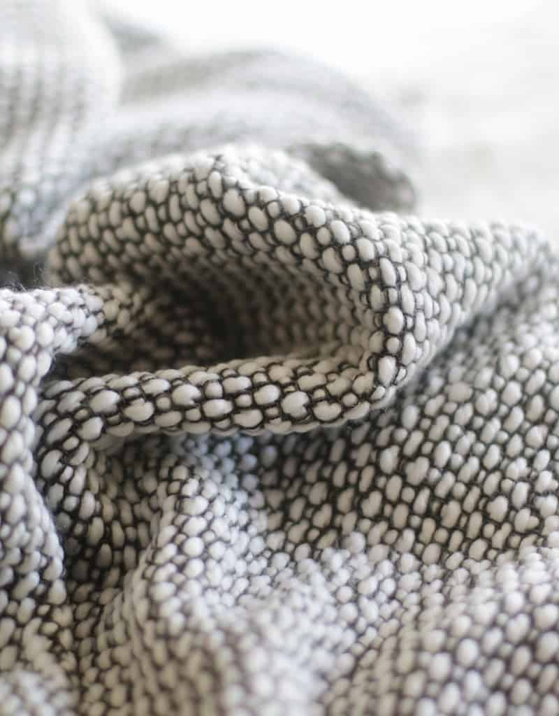 close up view fabric