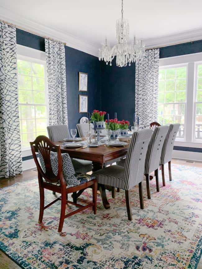 how to pick a paint color dining room