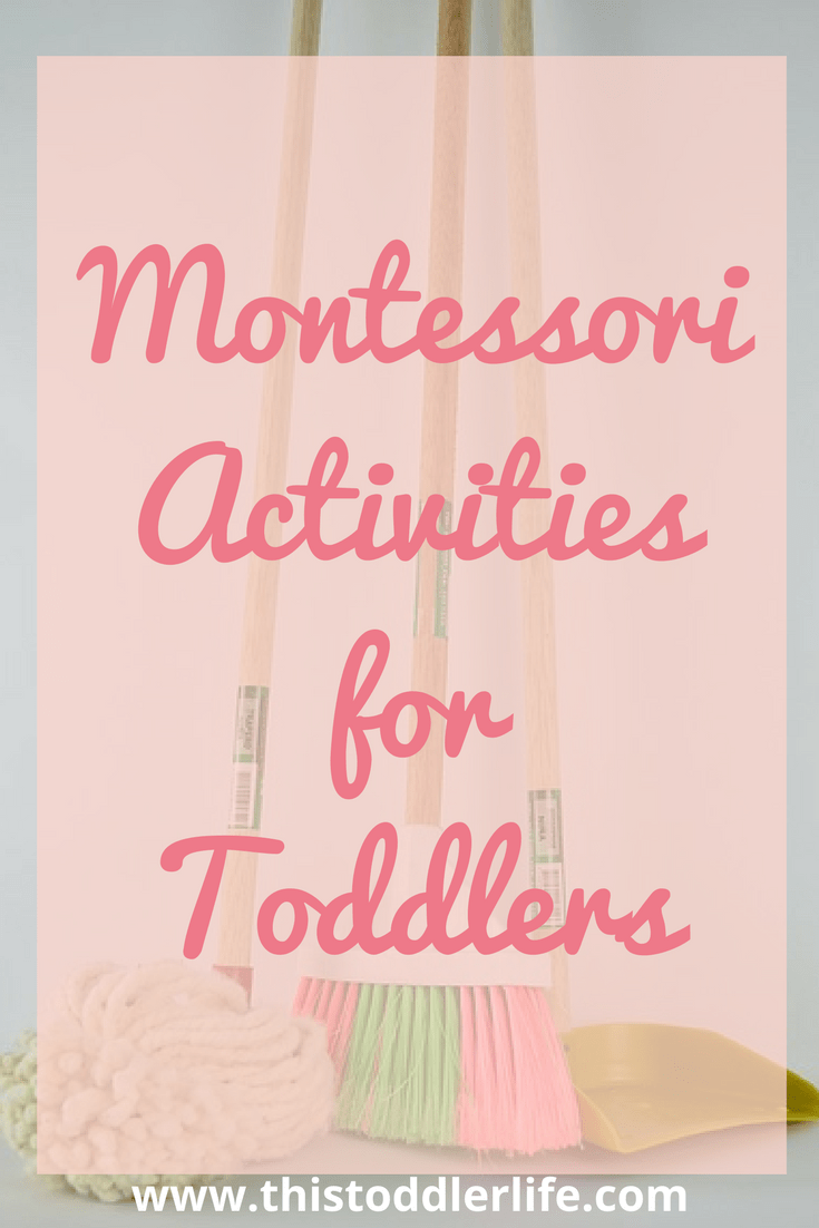 Montessori activities for toddlers to enjoy at