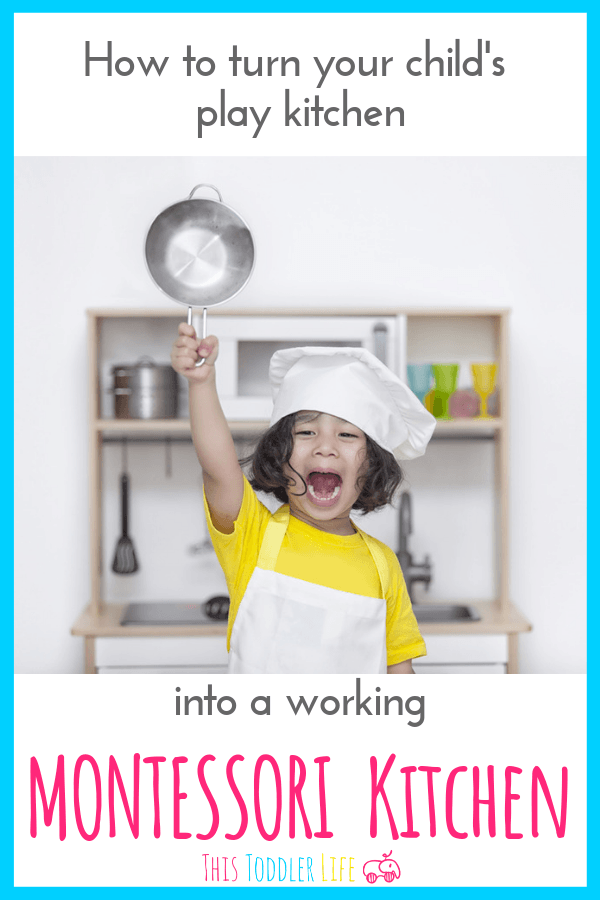 The best guide for creating a Montessori kitchen.