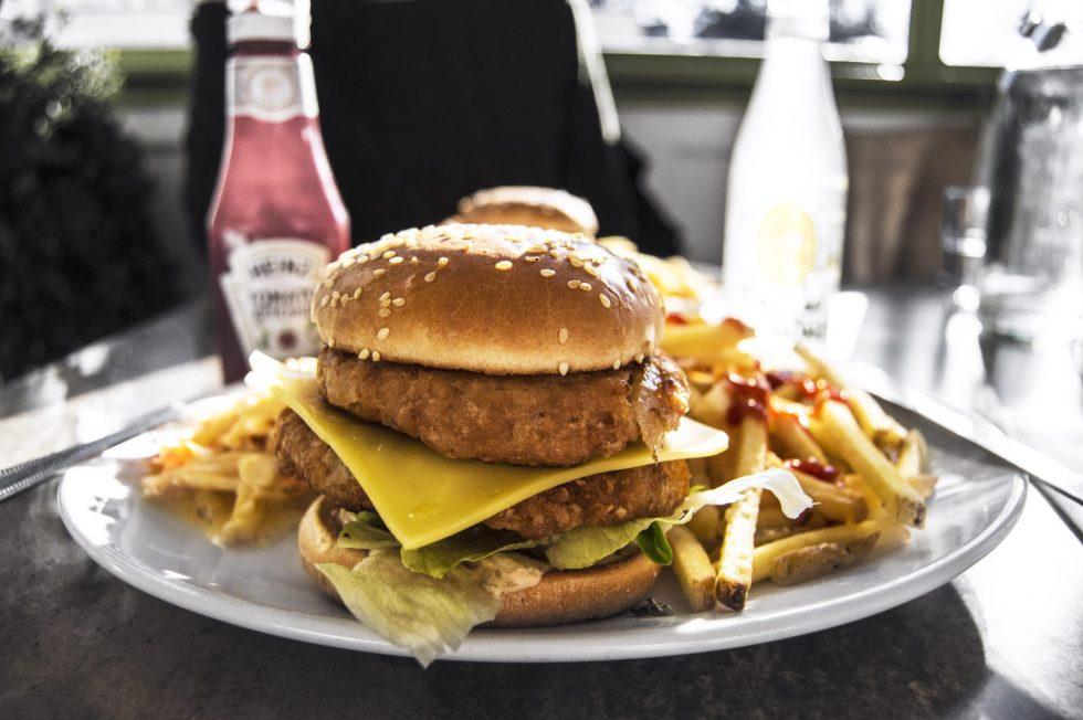 Veggie Burgers in Brixton