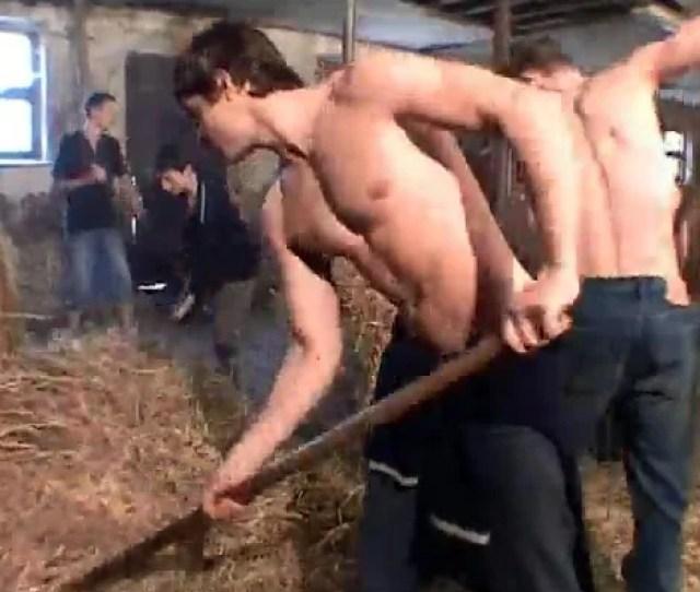 Hard Body Farm Boys Have A Gay Orgy