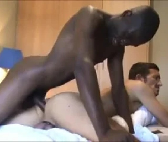 Interracial Gay Anal Sex In A Hotel Room