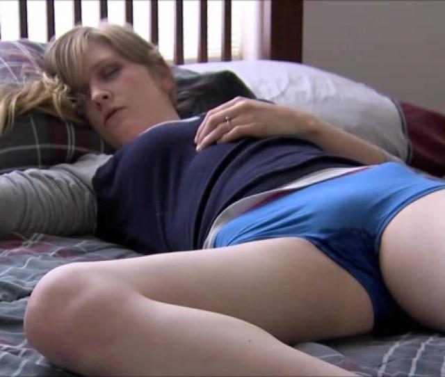 Cute Sleeping Girl Pisses Her Panties In Bed