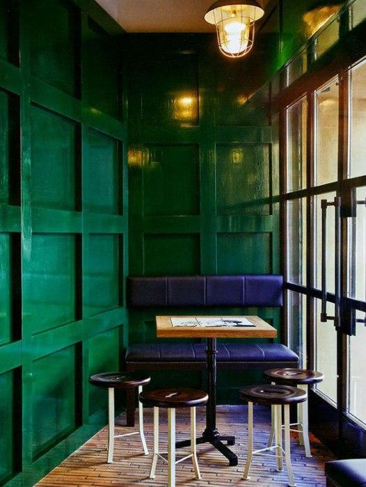 Emerald Green Lacquer Lacquered Walls Livia Mucchi Roberto Lioni Ark Pad