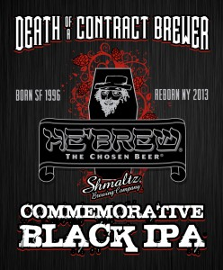 Death of A Contract Brewer Label