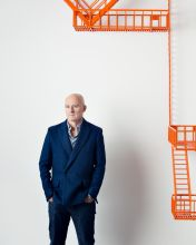 Installation artist and sculptor Jom Hodges - Portraits from the 150th Anniversary Gala of The Albright-Knox Art Gallery