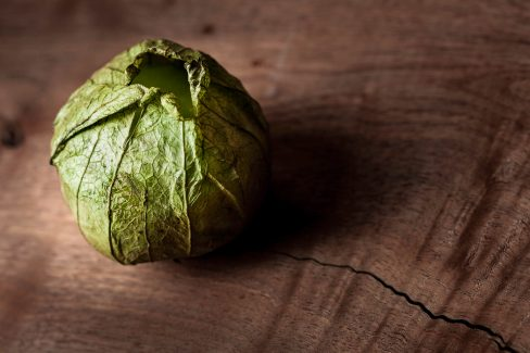 ©Howard - Tomatillo on Hardwood