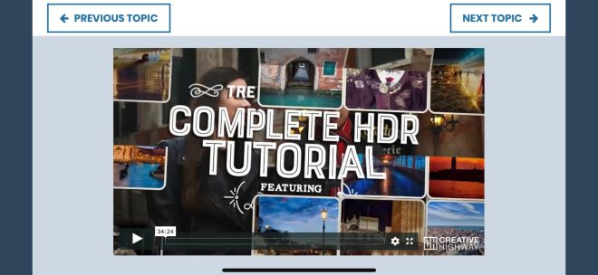 Creative Highway - iOS - Couse Demo