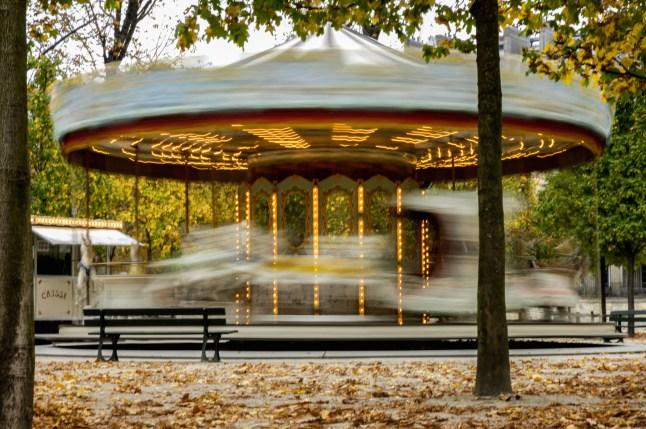 Carrousel, Tuileries Gardens, Paris, France