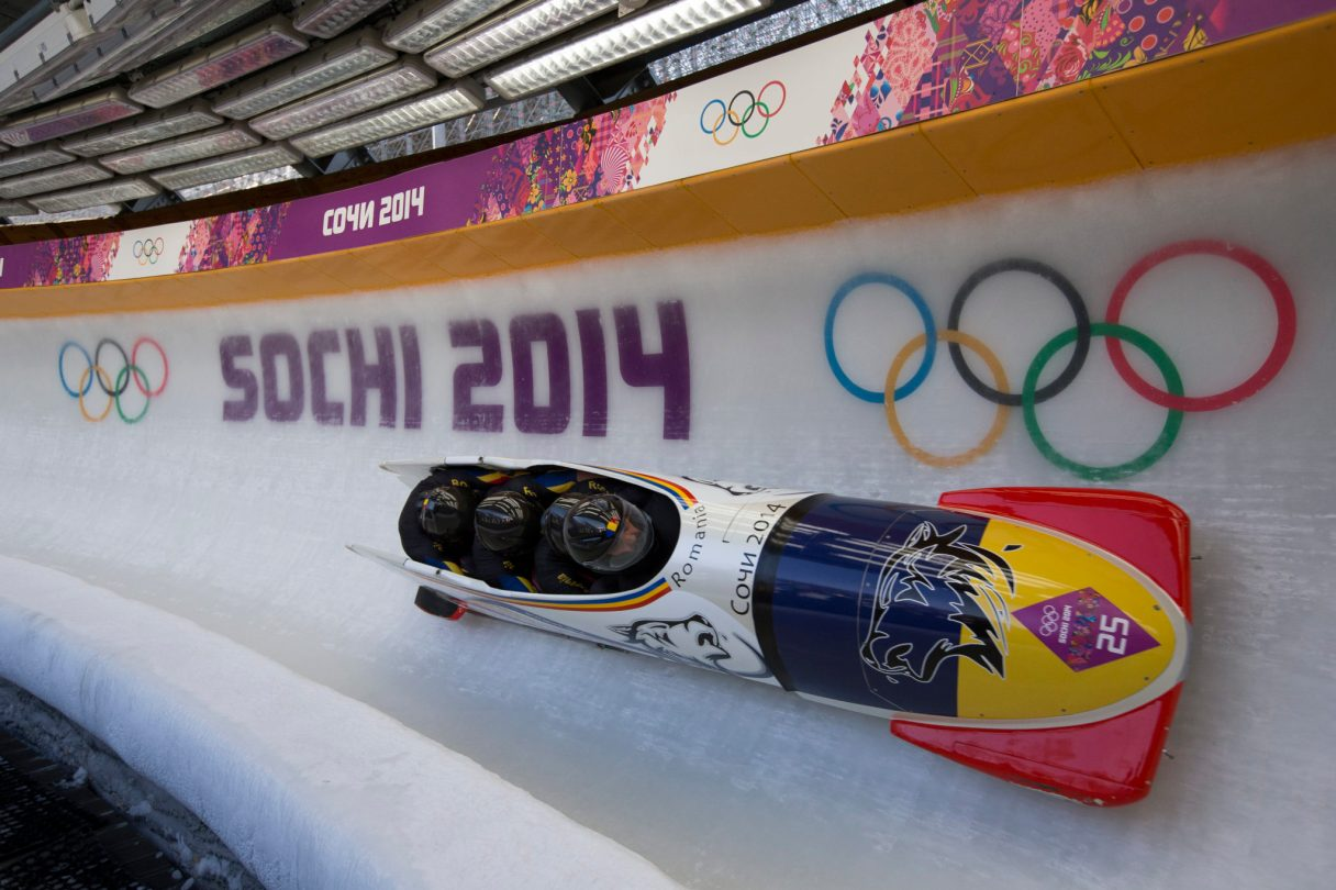 2014 Winter Olympics - Sochi, Russia 4 Man Bobsleigh