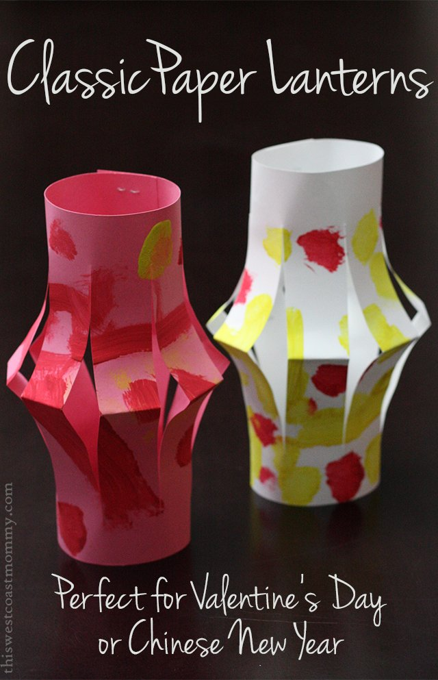 Paper Lanterns Craft This West Coast Mommy