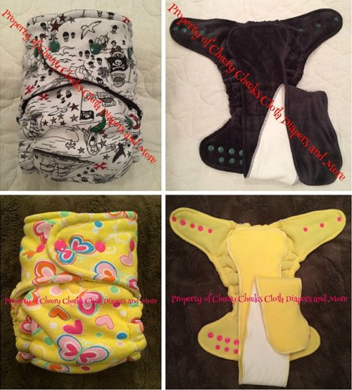 Cheery Cheeks Cloth Diapers
