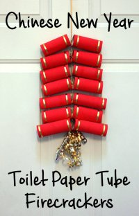 Chinese New Year Craft: Toilet Paper Tube Firecrackers ...