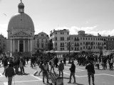From the steps of the train station, the first sight to greet you in Venice.