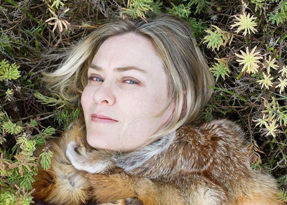 Portrait of Australian artist Emma Lindsay, by Ilona Nelson for This Wild Song