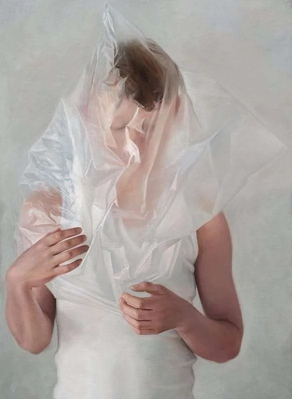 Erika Gofton,Sincere Lie, oil on linen