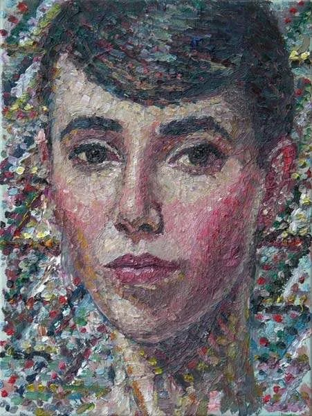 Yvette Coppersmith, Self Portrait as a Mosaic.