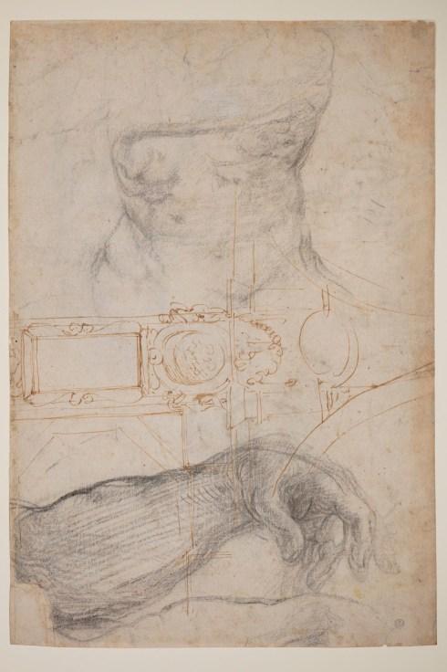 Michelangelo drawings, Detroit Institute of Art