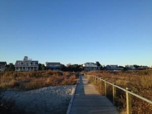 Beach front homes on St. Sullivan's Island