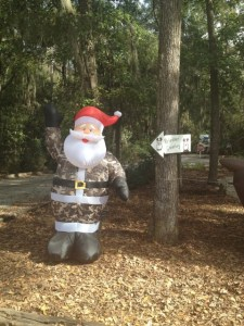 Who doesn't need a Camo Santa?!
