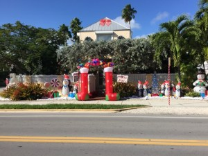 Key West Christmas decs
