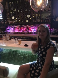 Happy hour at the Social Club Bar, Surfcomber Hotel
