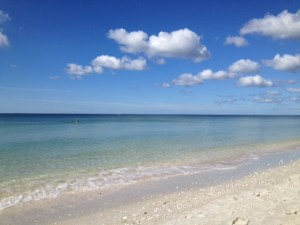 Nokomis Beach, on Casey Key