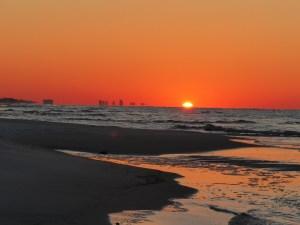 Sunrise at Grayton Beach