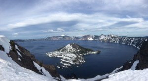 Crater Lake - very....blue!
