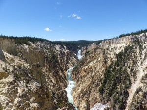 The Grand Canyon of the Yellowstone River from Artist's Point