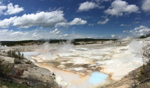 Norton Geyser Basin - like another planet!