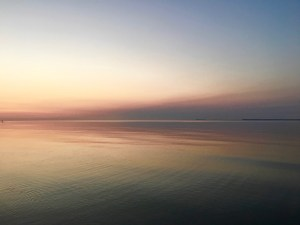 Dawn over Lake Michigan